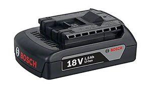 Bosch 2607336803 Battery 1-18v-1.5Ah Lithium Battery