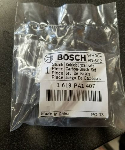 BOSCH 1619PA1407 CARBON BRUSH SET GENUINE