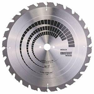 Bosch 2608640693 - Lama per sega circolare da tavolo, 400x30, 28 denti