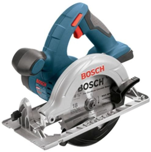 Bosch 18 Volt Lithium Ion Cordless Electric 6-1/2 in Circular Saw Powerful New