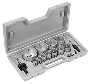 Bosch 2607018683 - Set di seghe a tazza, 14 pezzi, 19/22/25/29/35/38/44/51/57/65