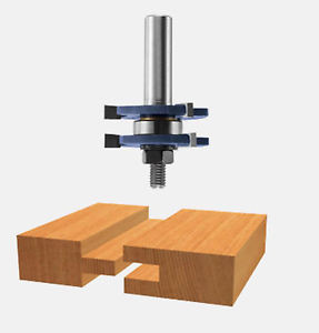 Bosch 84623M Carbide Tipped Tongue and Groove Bits