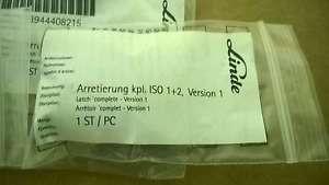 Linde 3944408215 Fork Pin Kit New