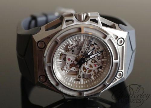 Linde Werdelin Limited Edition Spidolite Titanium Watch