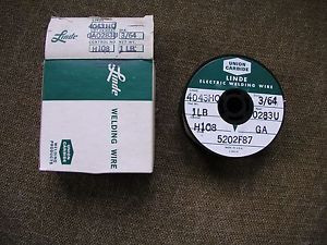 "Aluminum Welding Wire  3/64"" 4043 Linde 1 pound spool"