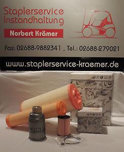 Filter Inspektion 1000 Std. Wartung Linde Stapler Gabelstapler TDI