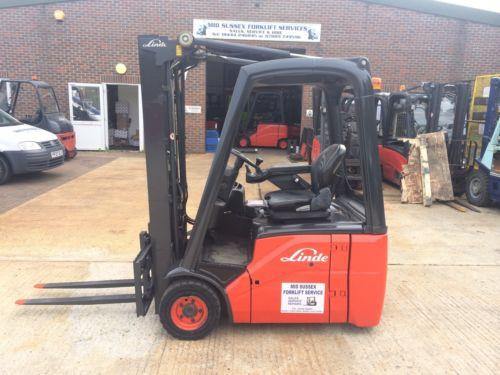 Linde E14 Electric Forklift