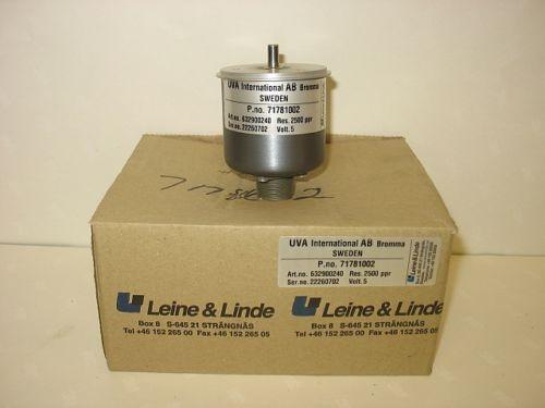 Leine & Linde Encoder 71781002 2500 ppr 5V New