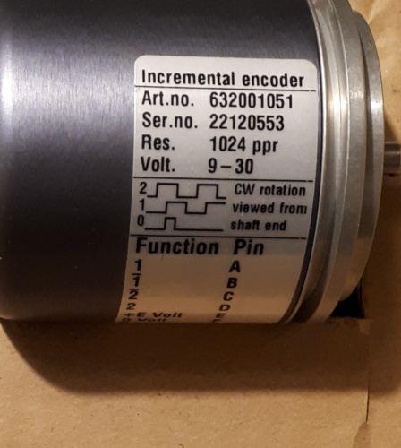 Leine & Linde encoder Art. No. 632001051 S/N 22120552  +0.5m cable