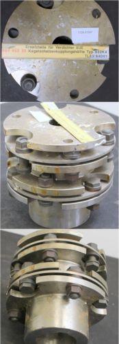 LINDE Kegelscheibenkupplungshälfte 38x75,4x246 AWK 200 - Typ 032KX TL82/84D01