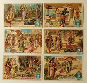 6 Kaufmannsbilder von Linde Serie Die Zauberflöte