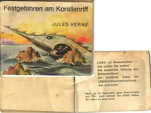 Jules Verne Nautilus U-Boot Heft Reklame Linde Bohnenkaffee