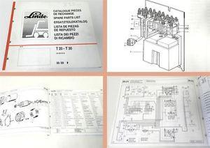 Ersatzteilkatalog Linde T20 T30 Hubwagen ab 6.1989 Parts List