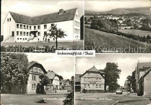 41447285 Untermassfeld Oberschule HO-Gaststaette Zur Linde Zum Stern Untermassfe