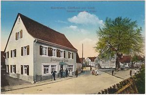 Efringen-Kirchen im Kreis Lörrach Gasthaus zur Linde Ansichtskarte 1917