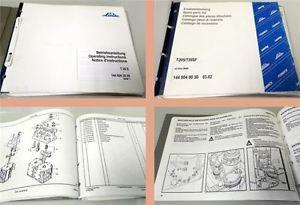 Linde T20S ab Serie 6.1996 Betriebsanleitung Ersatzteilliste ca 2002
