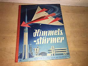 Linde : Himmelsstürmer Flugzeug Raketen Startplatz Raumfahrt Bastelbuch DDR