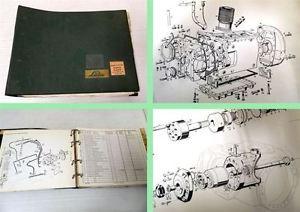 Ersatzteilkatalog Linde H20, H25 Gabelstapler Ersatzteilliste 1969