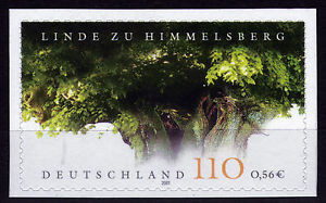 Bund 2217 **, Linde von Himmelsberg aus Markenheftchen