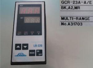 Linde LR-220 GCR-23A-A/E No. A31703    12-2   #665