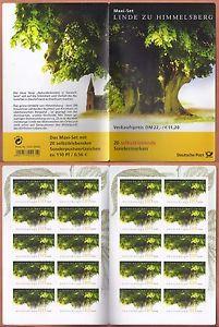 Bundesrepublik Deutschland Mi.Nr. 2217 - MH 45 Linde postfrisch Jahrgang 2001