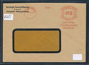 02683) DR meter AFS Höllriegelsreuth Linde Eismaschinen... Fa.-Brief 1929