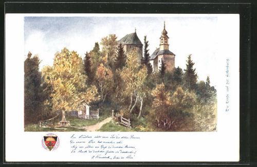 alte AK Deutscher Schulverein NR 143: die Linde auf der Festenburg