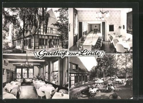 alte AK Seppenrade, Gasthaus zur Linde