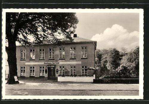 tolle AK Hanerau, Gasthaus zur Linde