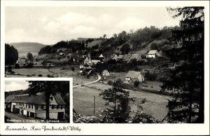 Ak Busenweiler Dornhan Landkreis Rottweil, Gasthaus zur Linde,... - 1612259