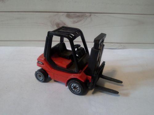 Siku Linde H30 Fork Lift Truck Red Diecast NICE!!!
