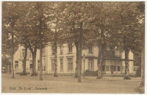 The Netherlands, Oisterwijk, Hotel De Linde, Old Postcard
