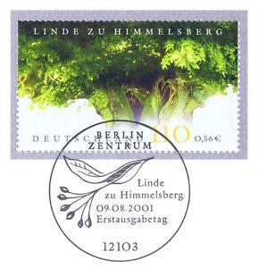 BRD 2001: Himmelsberg-Linde Nr 2208 mit Berliner Ersttags-Sonderstempel! 1A 1606