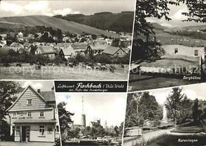 72329809 Fischbach Eisenach Bergbuehne Kuranlagen Inselsberg Gasthaus zur Linde