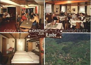 72542897 Neusatz Buehl Gasthof zur Linde Gaststube Doppelzimmer Fliegeraufnahme
