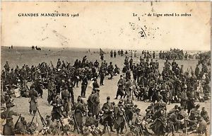 CPA MILITAIRE Grandes Manoeuvres-Linde attend les ordres (316508)