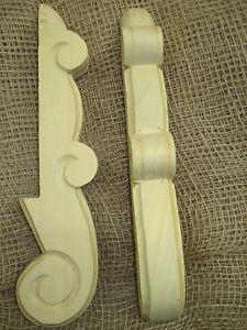 Möbelfuss/Holzfuss 2098 Kommodenfuß Biedermeier Linde