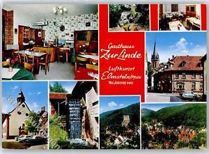 51394014 - Elmstein Gasthaus Zur Linde Nibelungenfelsen Kirchplatz Kath. Kirche