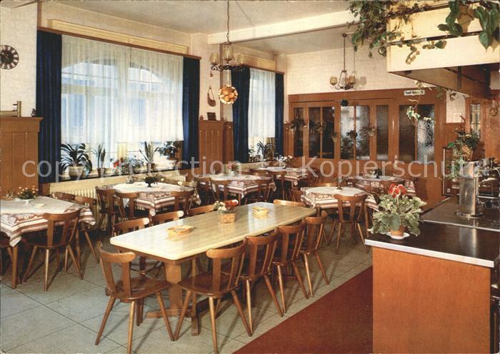 72182489 Gausbach Gasthof Zur Linde Speiseraum  Forbach