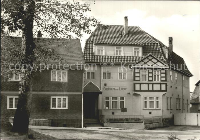 72119196 Oehrenstock Gasthaus zur Linde Langewiesen