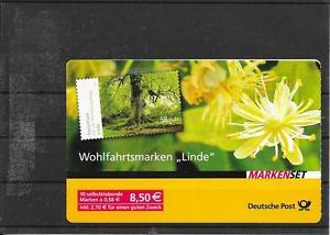BRD/ Bäume-Linde MiNr 2986 ** SKL im MH 93