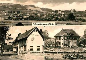 72966704 Wernshausen Gesamtansicht Gasthaus Zur Linde Erholungsheim Wernshausen