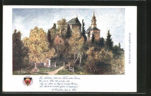tolle AK Deutscher Schulverein Nr. 143: Die Linde auf der Festenburg