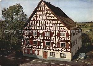 72420620 Dornstetten Wuerttemberg Gasthof Pension zur Linde Fachwerkhaus Dornste