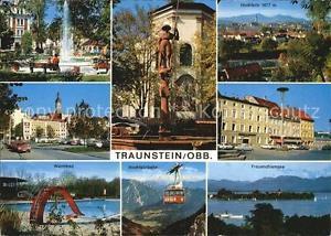 72542720 Traunstein Oberbayern Hochfelln Frauenchiemsee Warmbad  Stadtpark Linde