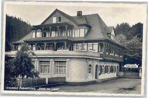 40634773 Sitzendorf Thueringen Sitzendorf Hotel zur Linde * Sitzendorf Schwarzat