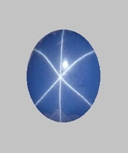 SIGNED LOOSE UNMTD VINTAGE LINDE LINDY CORNFLOWER BLUE STAR SAPPHIRE CREATED