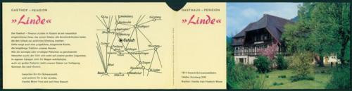 Prospekt  -  Gutach -  Gasthaus Linde
