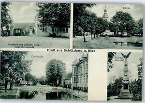 51466008 - Schuetzberg Gasthaus zur gruenen Linde Kirche Dorfstrasse Kriegerdenk