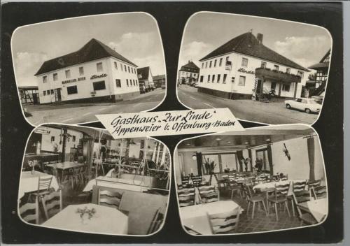 Gasthaus Zur Linde *Appenweier b. Offenbach *